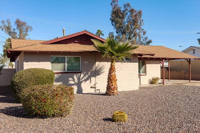 Tempe AZ Single Family Home For Sale: $310,000