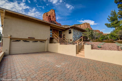 Sedona Single Family Home For Sale: 130 Coffee Pot Rock Road