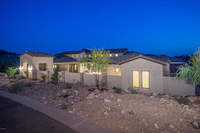 Gold Canyon Single Family Home For Sale: 9353 E Thunder Pass Drive