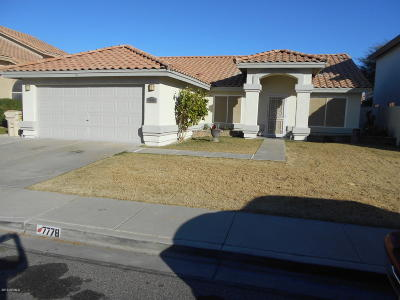 Glendale Single Family Home For Sale: 7778 W Sierra Vista Drive