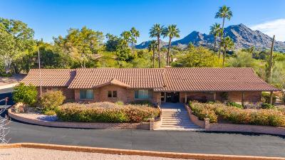 Paradise Valley Single Family Home For Sale: 6845 N Hillside Drive