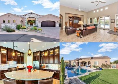 Chandler, Gilbert, Mesa, Scottsdale, Tempe, Paradise Valley, Carefree, Cave Creek, Phoenix Single Family Home For Sale: 35339 N 98th Street