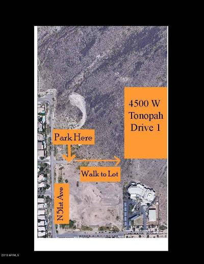 Glendale Residential Lots & Land For Sale: 4500 W Tonopah Drive