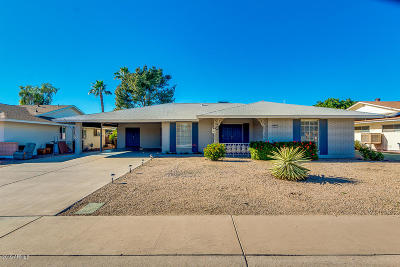 Sun City Single Family Home UCB (Under Contract-Backups): 9830 N 104th Drive