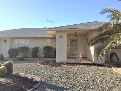 Sun City West Single Family Home For Sale: 21006 N Sunglow Drive