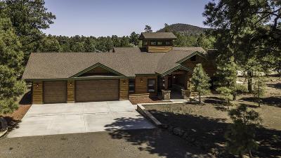 Flagstaff Single Family Home For Sale: 7461 Crockett Lane