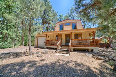Pinetop Single Family Home For Sale: 3821 Turkey Track Road