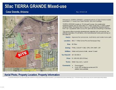 Casa Grande Residential Lots & Land For Sale: Sec 11 E Sunscape Way