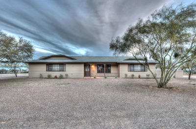 Maricopa Single Family Home For Sale: 11801 N Thunderbird Road