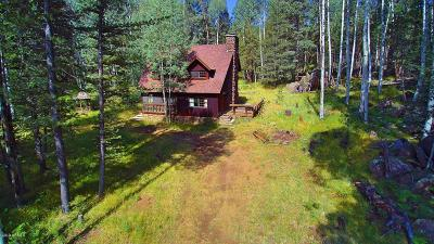 Flagstaff Single Family Home For Sale: Hart Prairie (Cabin And 80 Ac) Road