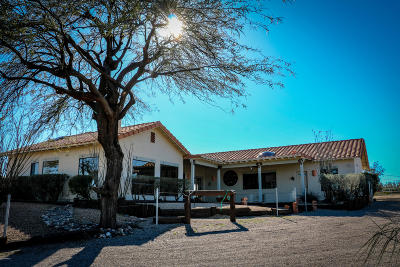 Wickenburg Single Family Home For Sale: 18330 W Moonlight Mesa Road
