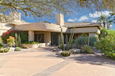 Paradise Valley Single Family Home For Sale: 6030 E Joshua Tree Lane