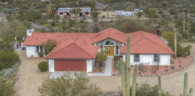 Cave Creek Single Family Home For Sale: 5924 E Saguaro Road