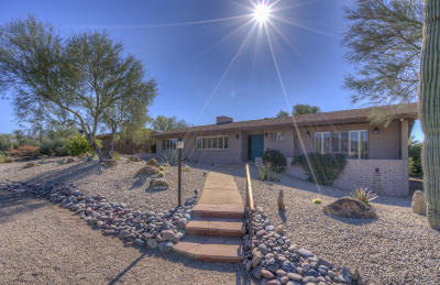 Carefree Single Family Home For Sale: 7815 E Carefree Drive