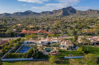 Paradise Valley Single Family Home For Sale: 6480 E El Maro Circle