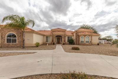 Casa Grande Single Family Home For Sale: 9347 W Weaver Circle