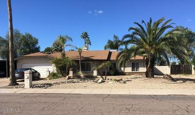 Phoenix Single Family Home For Sale: 15814 N 35th Place
