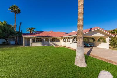 Paradise Valley Single Family Home For Sale: 6512 N 63rd Place