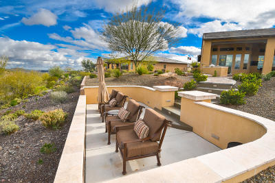 Wickenburg Single Family Home For Sale: 3696 Quartz Circle