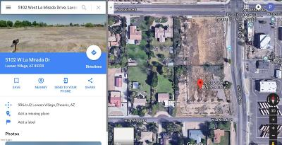 Laveen Residential Lots & Land For Sale: 5102 W La Mirada Drive