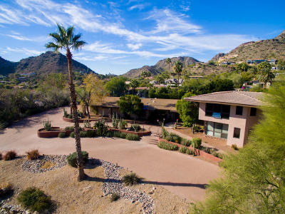 Paradise Valley Single Family Home For Sale: 7342 N Brookview Way