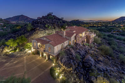 Paradise Valley AZ Single Family Home For Sale: $4,250,000