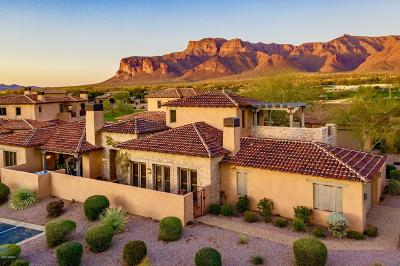 Acacia Village At Superstition Foothills, Ponderosa Village At Superstition Foothills, Sunset Village At Superstition Foothills, Superstition Mountain, Superstition Mountain - Petroglyph Estates, Wilderness At Superstition Foothills Single Family Home For Sale: 7500 E Golden Eagle Circle