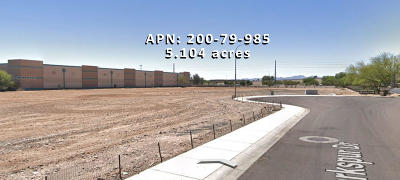 Peoria Residential Lots & Land For Sale: W Empire Business Park Lot A5