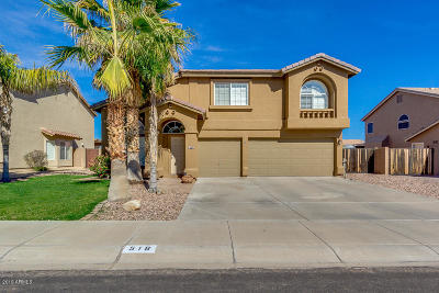 San Tan Valley Single Family Home For Sale: 518 E Mayfield Drive