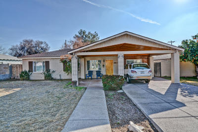 Phoenix Single Family Home For Sale: 3907 E Mulberry Drive