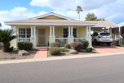 Phoenix Mobile/Manufactured For Sale: 16814 N Canterbury Drive