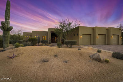 Cave Creek Single Family Home For Sale: 5459 E Desert Forest Trail