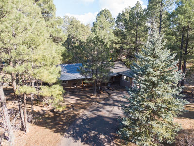 Show Low Single Family Home For Sale: 1001 Chaparral Drive