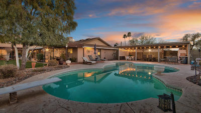 Paradise Valley Single Family Home For Sale: 6336 E Cochise Road