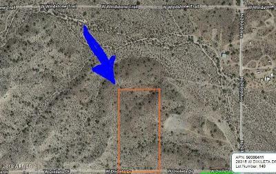 Wittmann Residential Lots & Land For Sale: Xxxx W Dixileta Drive