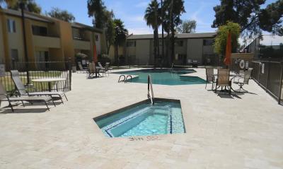 Scottsdale  Apartment For Sale: 8055 E Thomas Road #C107