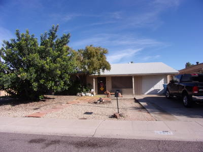 Phoenix Single Family Home For Sale: 14811 N 37 Way