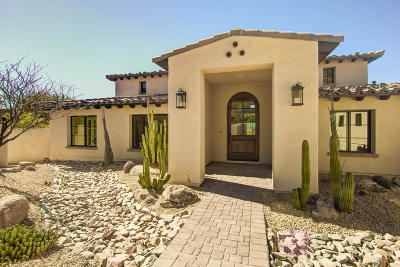 Carefree AZ Single Family Home For Sale: $1,575,000