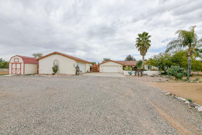 Wickenburg Single Family Home For Sale: 18620 W Moonlight Mesa Road