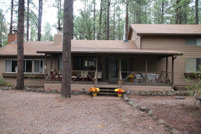 Pinetop Single Family Home For Sale: 3030 Aspen Loop