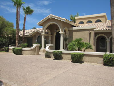 Paradise Valley Single Family Home For Sale: 5928 E Via Los Caballos