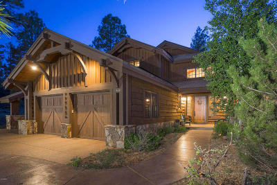 Flagstaff Single Family Home For Sale: 1848 E Sleeper Hollow Court