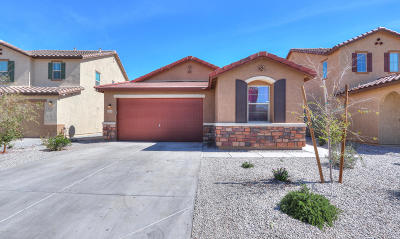 Maricopa Single Family Home For Sale: 18375 N Russell Drive