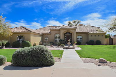Mesa Single Family Home UCB (Under Contract-Backups): 4137 E McLellan Road