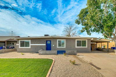 Tempe  Single Family Home For Sale: 1143 W Santa Cruz Drive