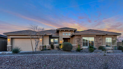 Goodyear, Waddell Single Family Home For Sale: 12115 S 180th Drive