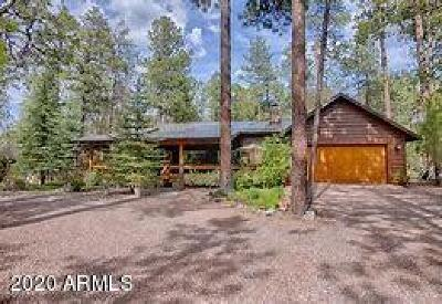Pinetop Single Family Home For Sale: 3703 Larkspur Lane