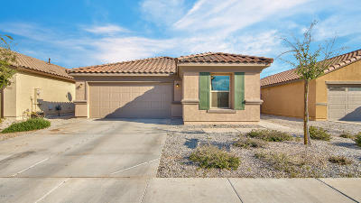 Maricopa Single Family Home For Sale: 40940 W Portis Drive