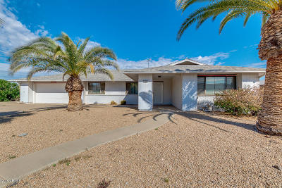 Sun City West Single Family Home For Sale: 12406 W Allegro Drive