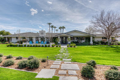 Single Family Home For Sale: 5021 E Exeter Boulevard